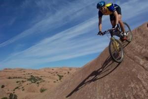 fietsen op mountainbike
